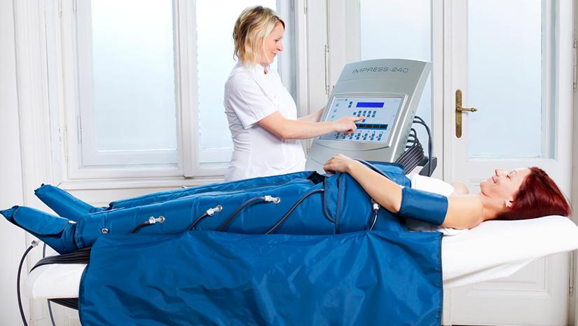 MedPressure 2in1 Nyomásterápiás Hullámmasszázs készülék infra terápiával