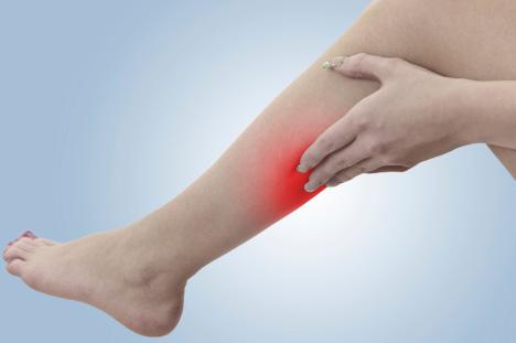 a láb fájdalma visszeres