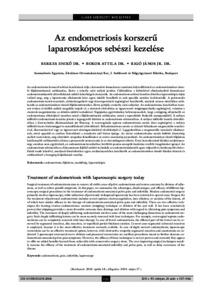 endometriosis kezelése visszerekkel)