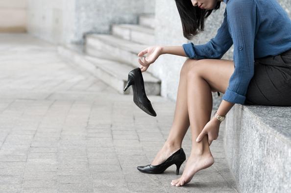 cipő és visszér