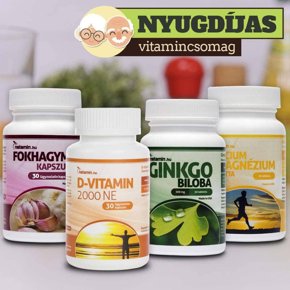 vitaminok tablettákban a visszér ellen
