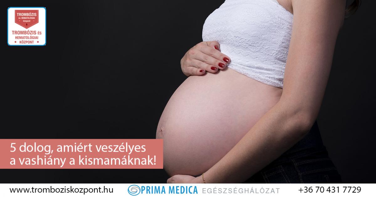 mit iszhatnak a terhes nők visszerek