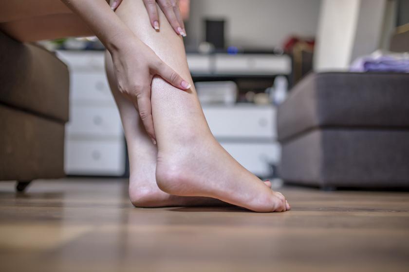 zúzódás visszerekkel, láb ödéma