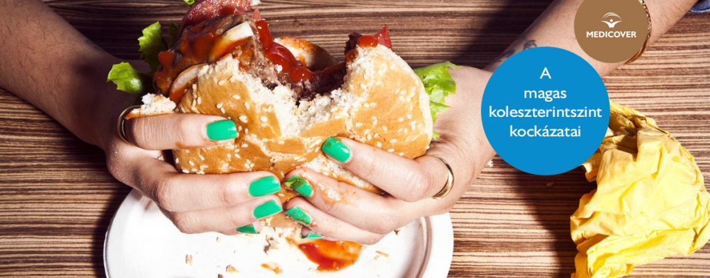 A magas koleszterinszint látható jelei