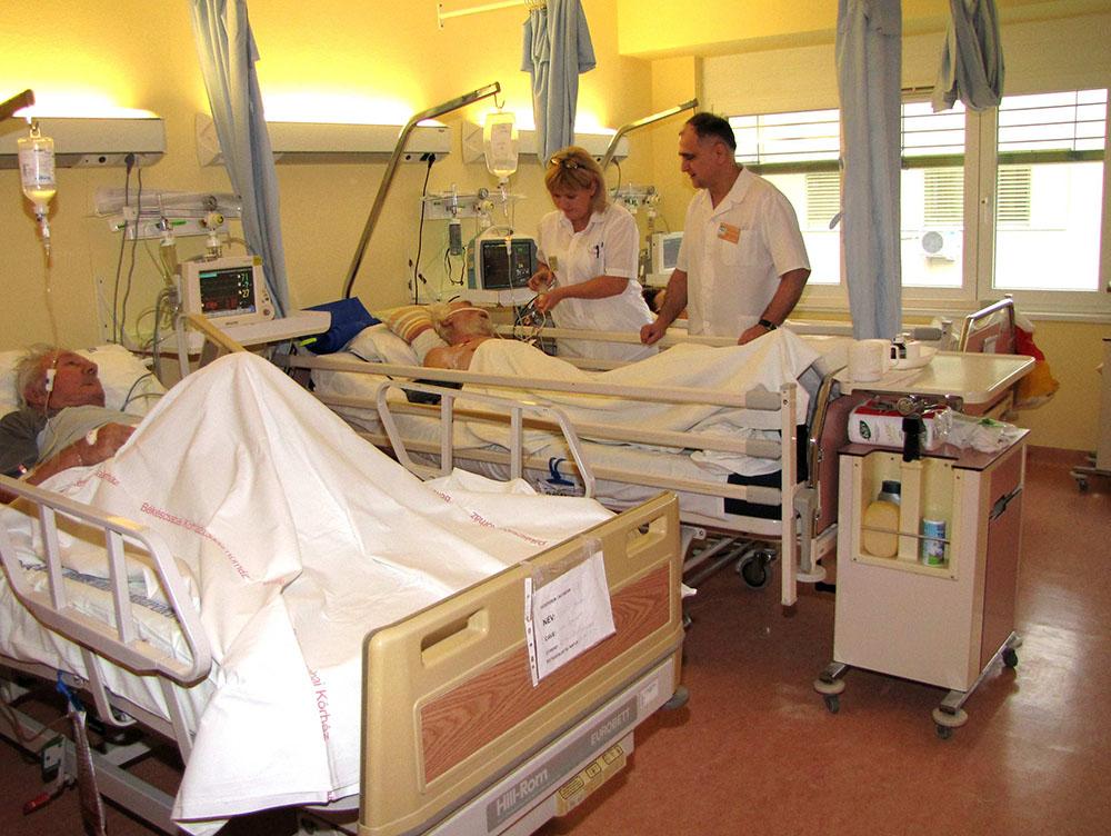 hogyan kezelik a visszéreket a kórházban)