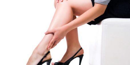 hidzsma a varikózisos lábakon