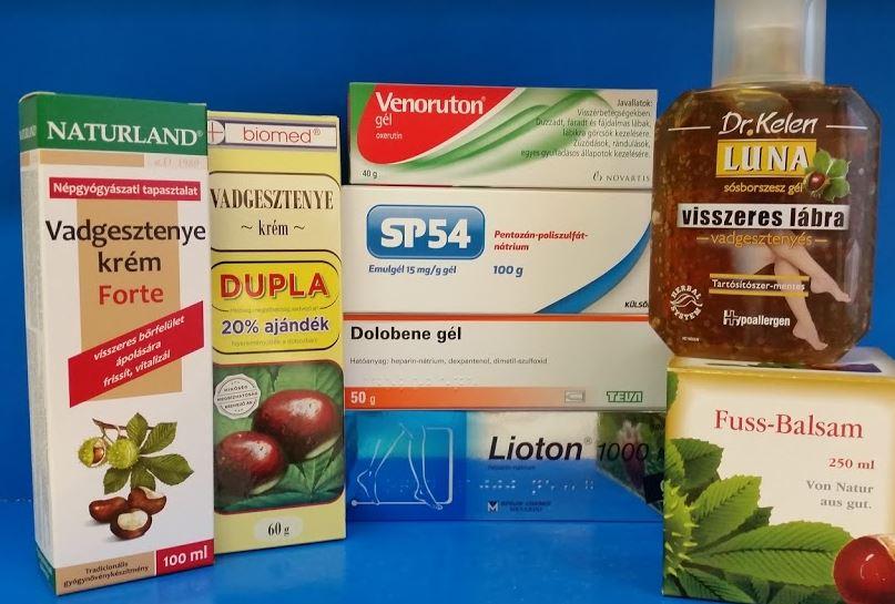 milyen gyógyszerekkel szabadulhat meg a visszérektől