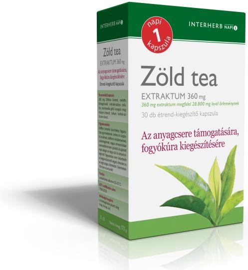 zöld tea nem visszeres