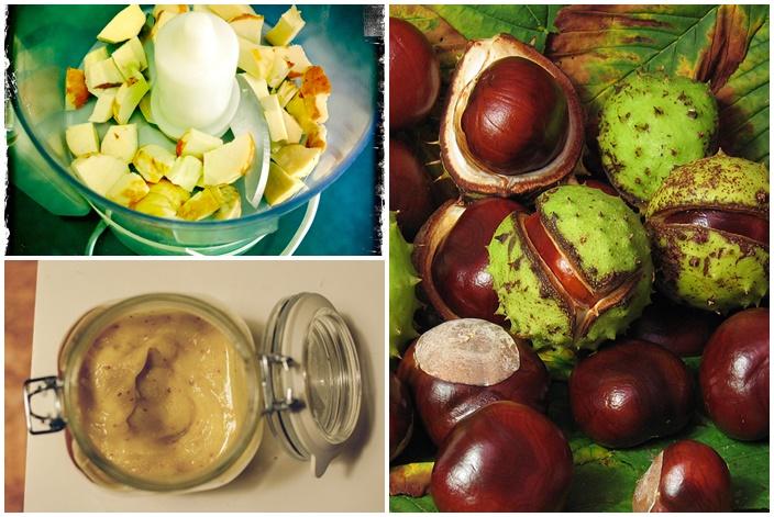 receptek gesztenye gyümölccsel a visszér ellen