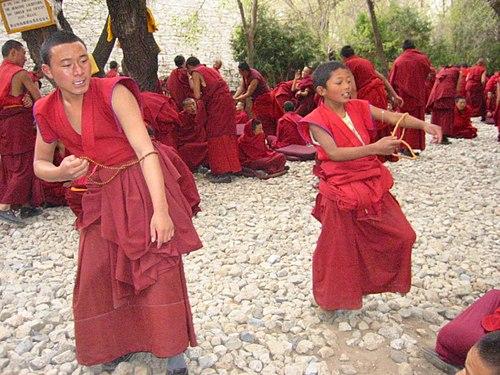 Tibeti szerzetesek a visszérről)