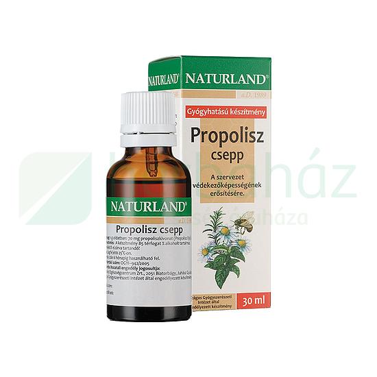 Ezerjófű Propolisz tinktúra, 50 ml | EzerJóFű | Biosziget