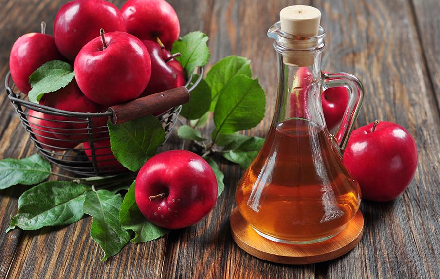 az almaecet segít a visszérben)