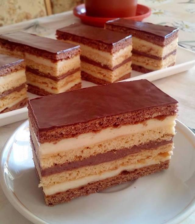 Csokis-málnás desszert