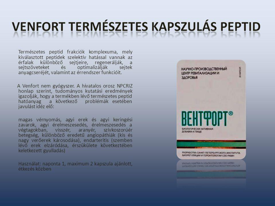 visszér és peptidek gesztenye kezelés a visszerek visszérében